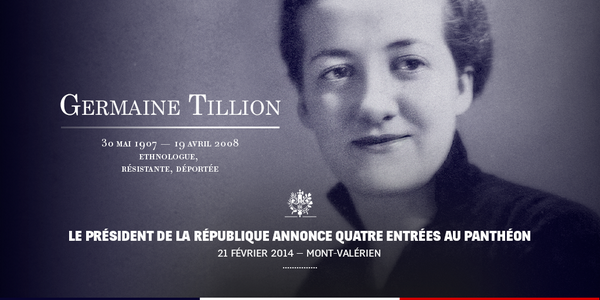 Germaine Tillion nous dit...